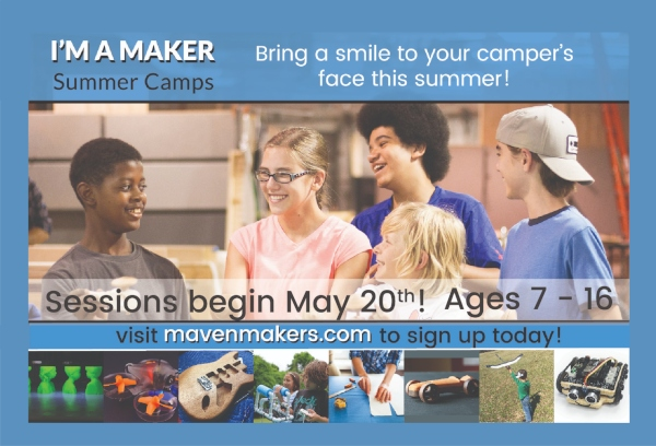 Maven Maker Summer Camps Savannah Drones 3DMe