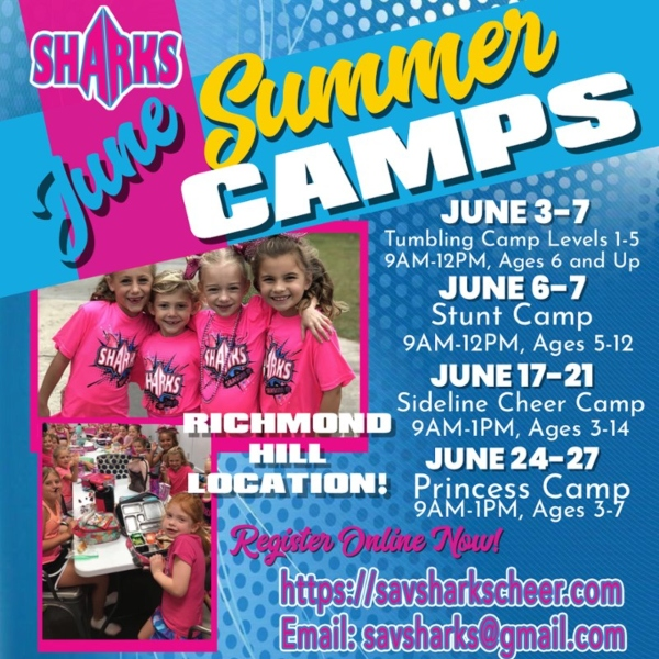 Savannah Sharks Summer Camps Richmond Hill