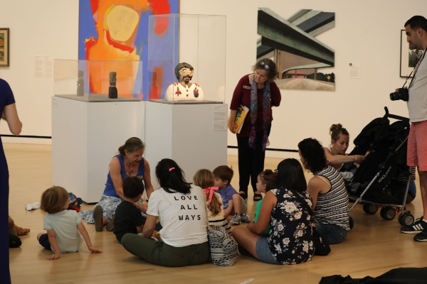 art start toddler tours Jepson Center Telfair Museums Savannah