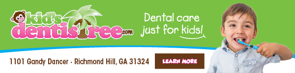 Kid's Dentistree Savannah Richmond Hill pediatric dentists