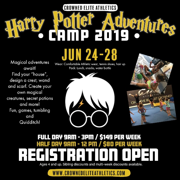 Harry Potter Summer Camp Savannah Crowned Elite 2019