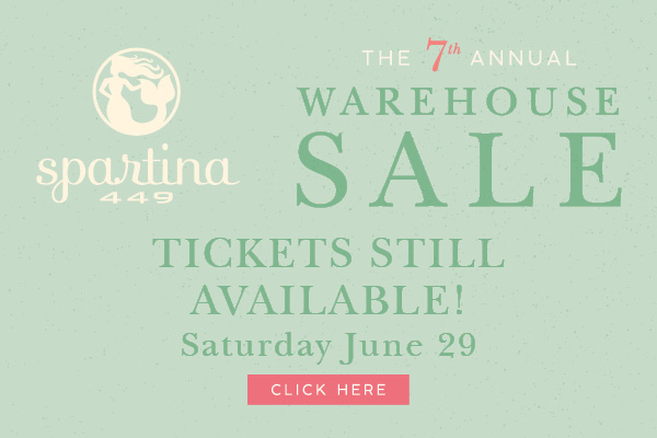 Spartina Warehouse Sale 2019 Savannah Hilton Head Island