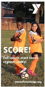 Fall sports YMCA Coastal Georgia Savannah Islands Richmond HIll