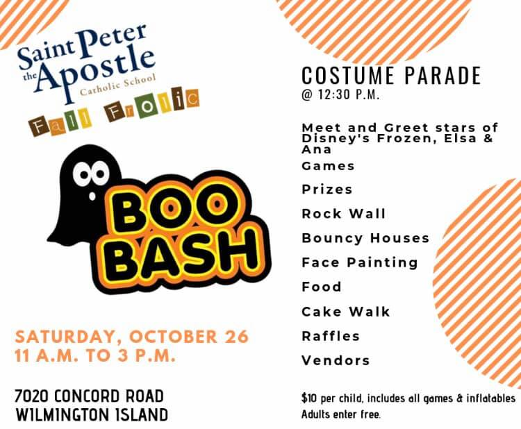 Boo Bash St. Peter the Apostle School Savannah Wilmington Island