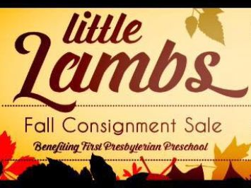 Little Lambs consignment sale 2019 Fall
