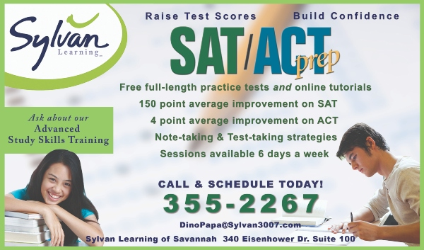 SAT/ACT Prep Savannah Chatham County tutoring