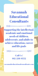 Savannah Educational Consultants Tutoring College Counseling