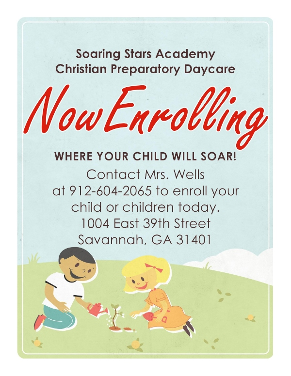 Soaring Stars Academy Savannah preschools daycare childcare Chatham County