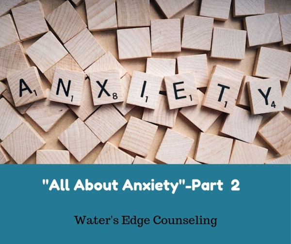 anxiety treatment savannah therapists counselors Water's Edge