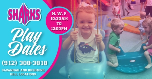 Savannah Sharks Playdates gym toddlers 2019