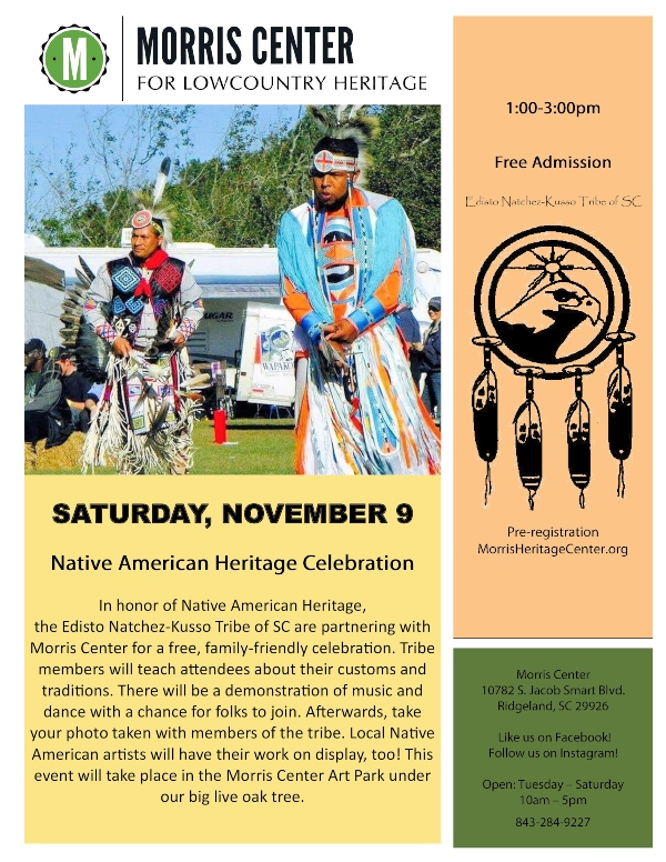 Native American Celebration Ridgeland SC Morris Center Hardeeville