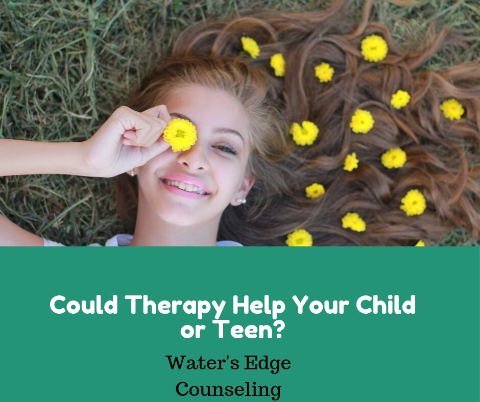 Therapy Therapists Counselors Savannah Chatham County Water's Edge teen children pediatric
