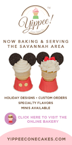 Yippee Cone Cakes Halloween Holiday Savannah Chatham County cupcakes