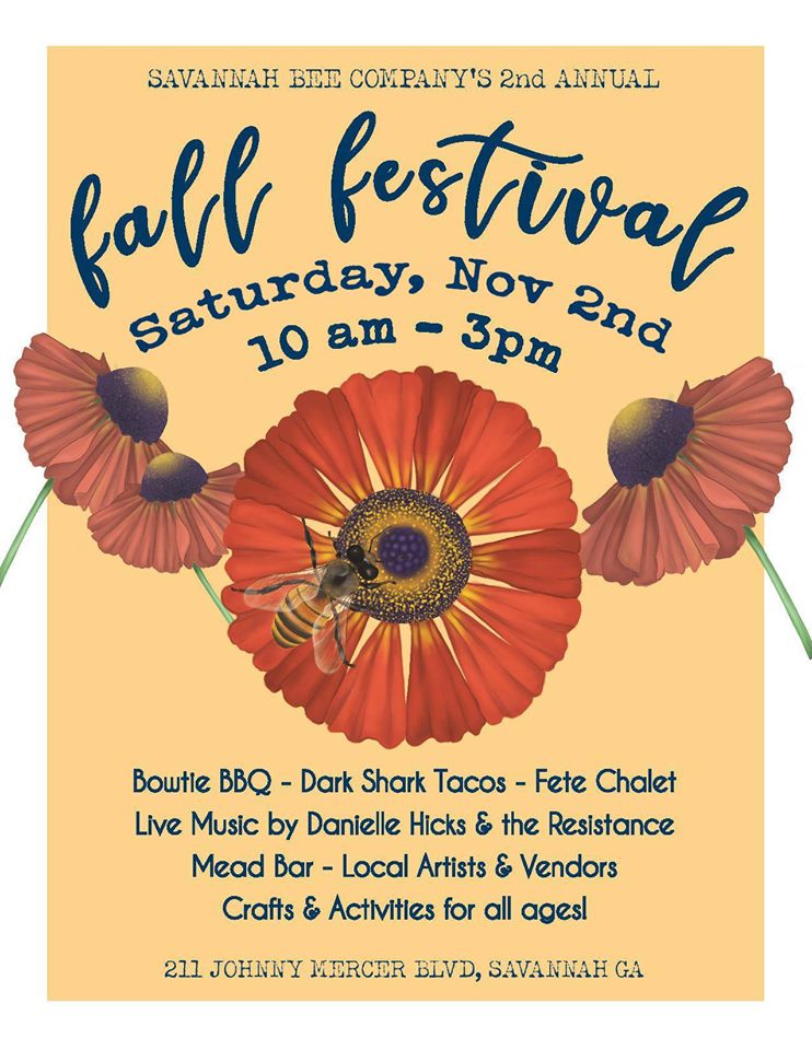 Savannah Bee Fall Festival 2019