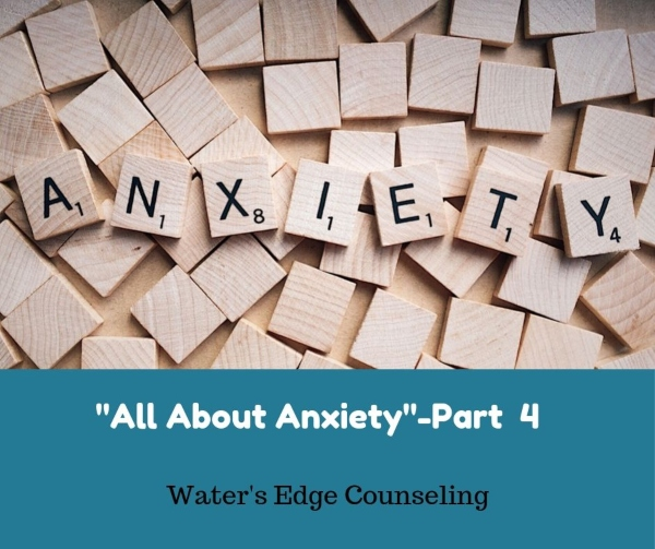Anxiety treatment therapy counseling Savannah therapist counselors Water's Edge