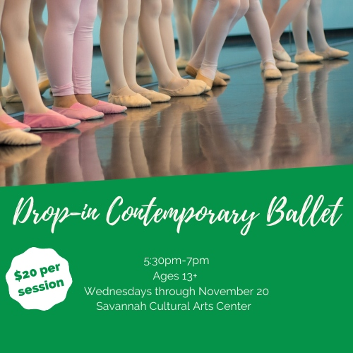 Ballet classes Savannah Cultural Arts Center Chatham County kids