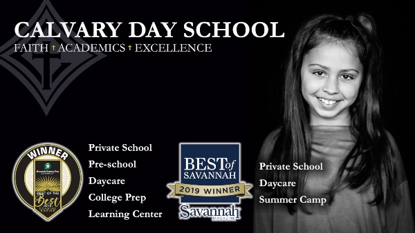 Calvary Day School Savannah Chatham County private schools preK