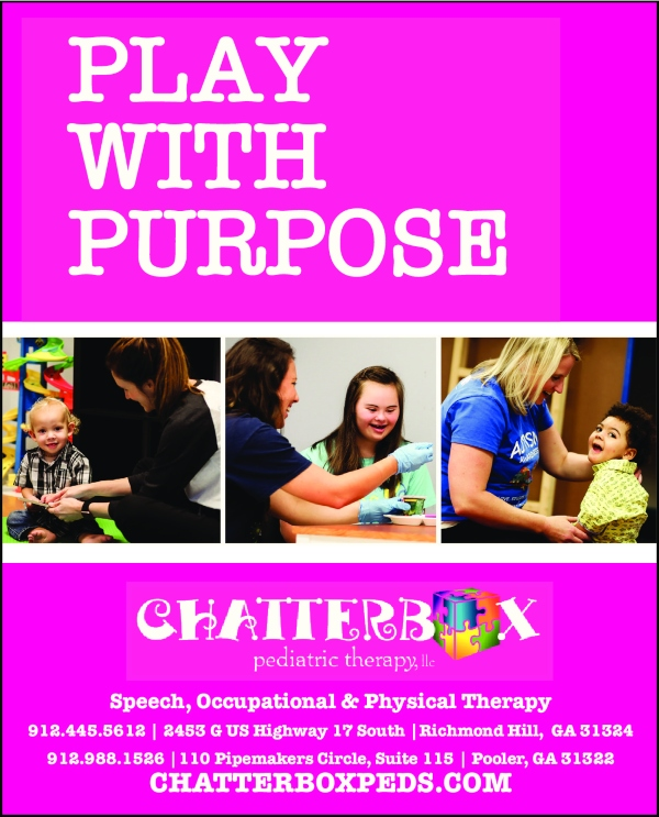 Chatterbox Pediatric Therapy Pooler autism speech therapy