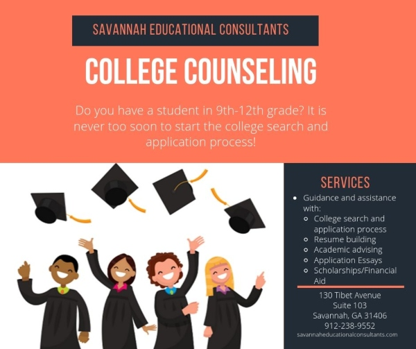College Counseling Savannah Educational Consultants