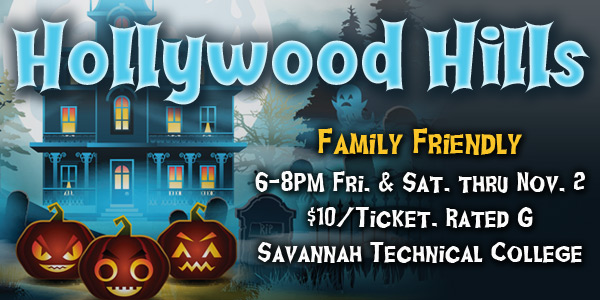 Hollywood Hills Family Friendly Savannah haunted house