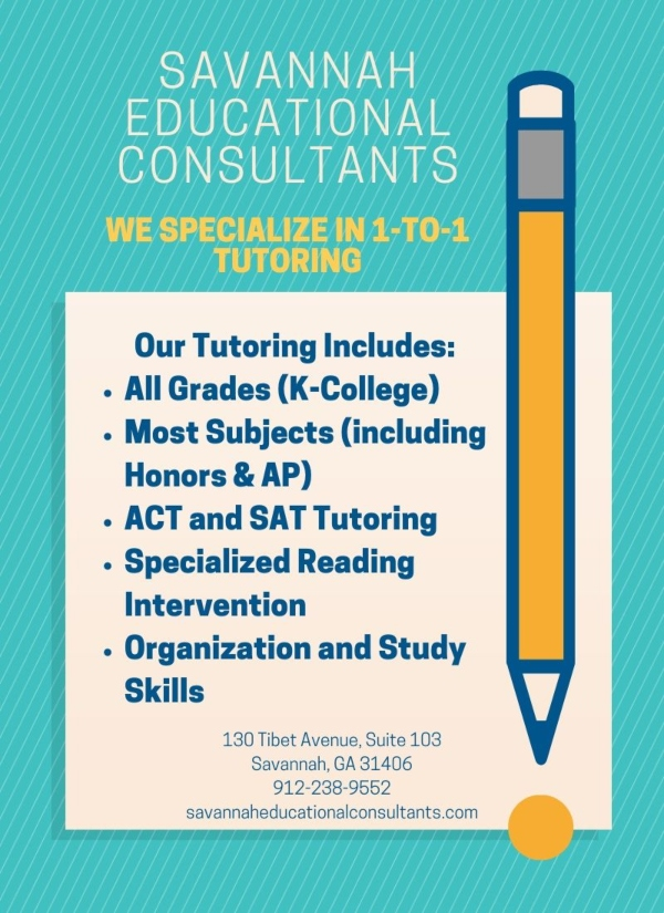 Savannah Education Consultants tutoring Savannah