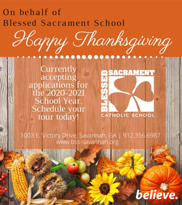 Blessed Sacrament Savannah schools private catholic kindergarten
