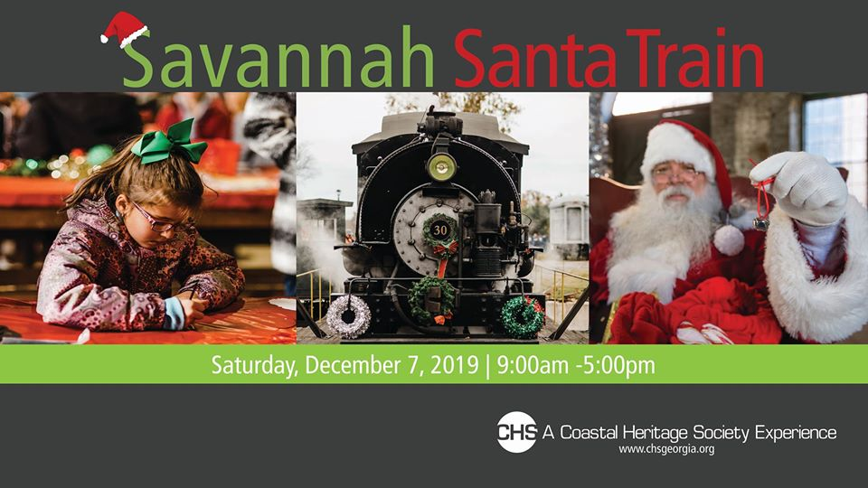 Savannah Santa Train 2019 Christmas Museum