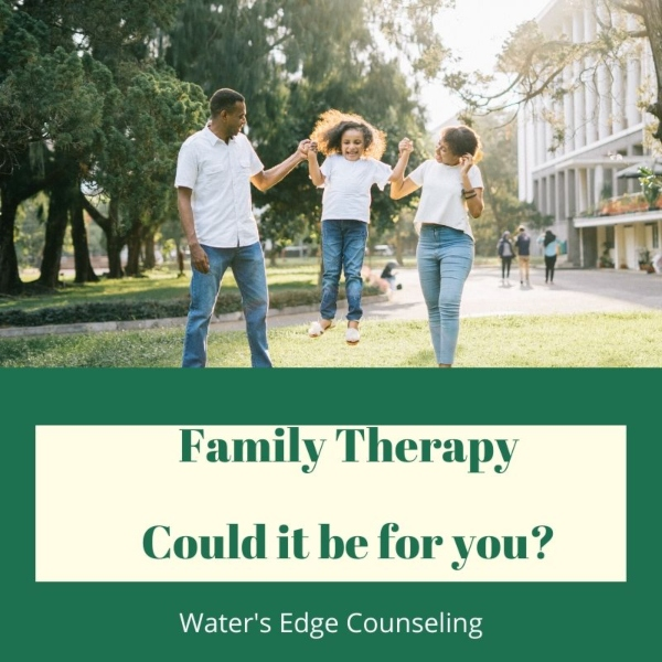 Family Therapy Water's Edge Counseling