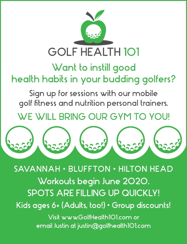 Golf Health mobile sessions lessons Savannah Hilton Head Bluffton