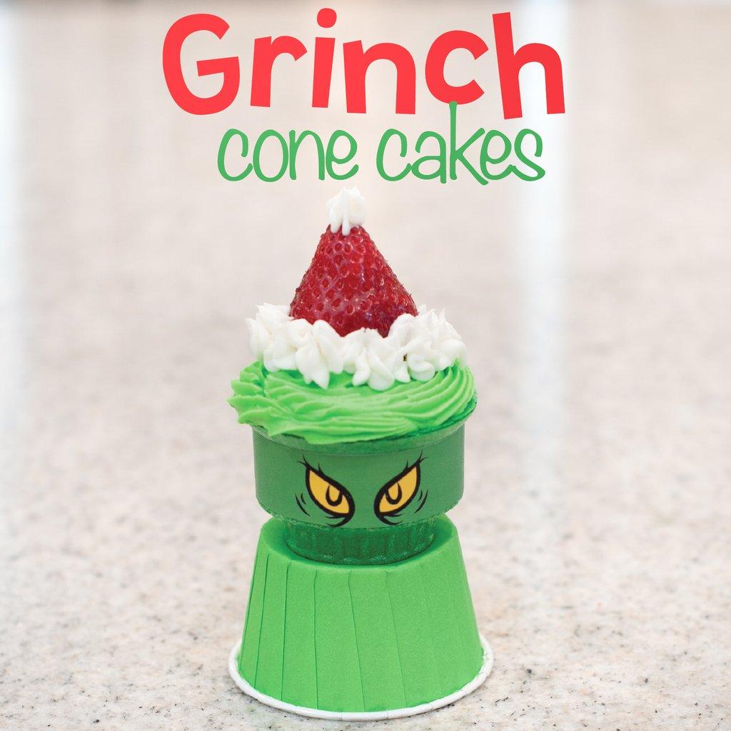 Yipee Cone Cakes