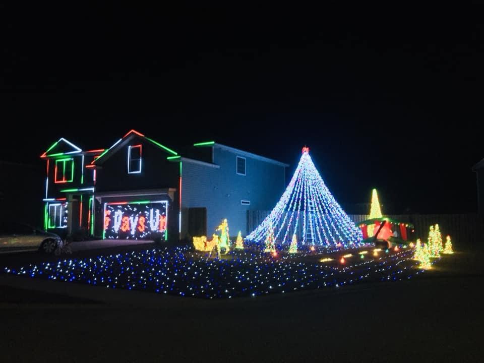 Rockwell Family Christmas Lights @ 253 Cypress Creek Lane, Guyton, Ga 31312