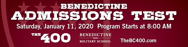 Benedictine Military School Admissions test 2020