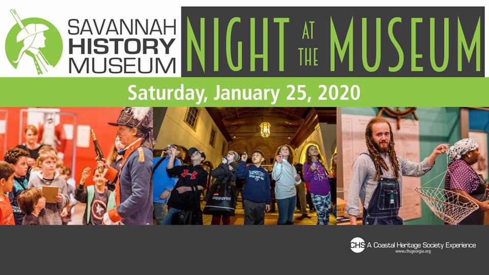 Night at the Museum Savannah 2020 Coastal Heritage