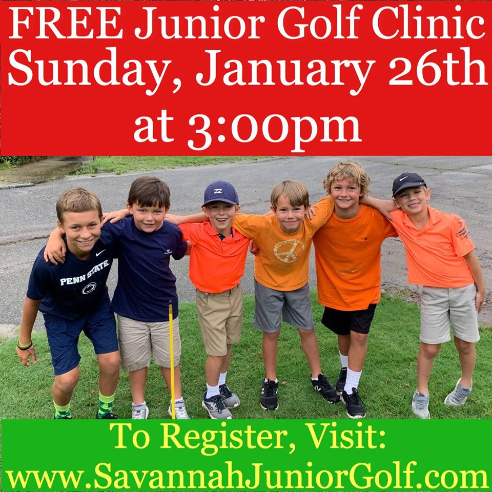 FREE Golf Clinic Savannah