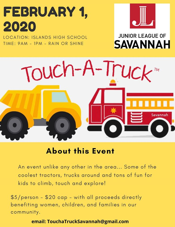 Touch-A-Truck Savannah Islands