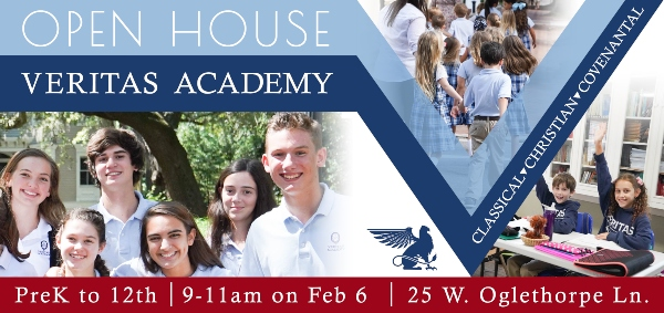 veritas academy savannah schools open house private 2020