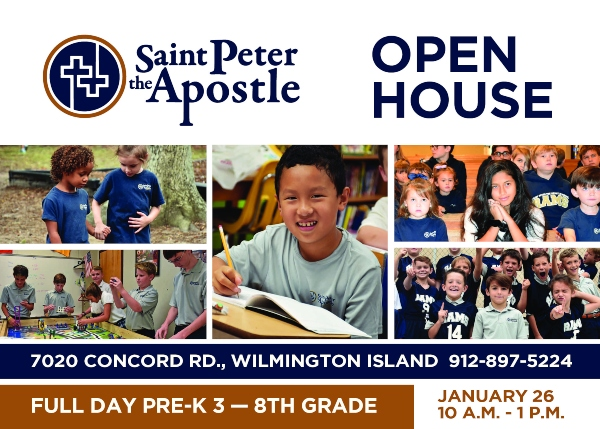 Saint Peter the Apostle School Savannah Catholic private Chatham County