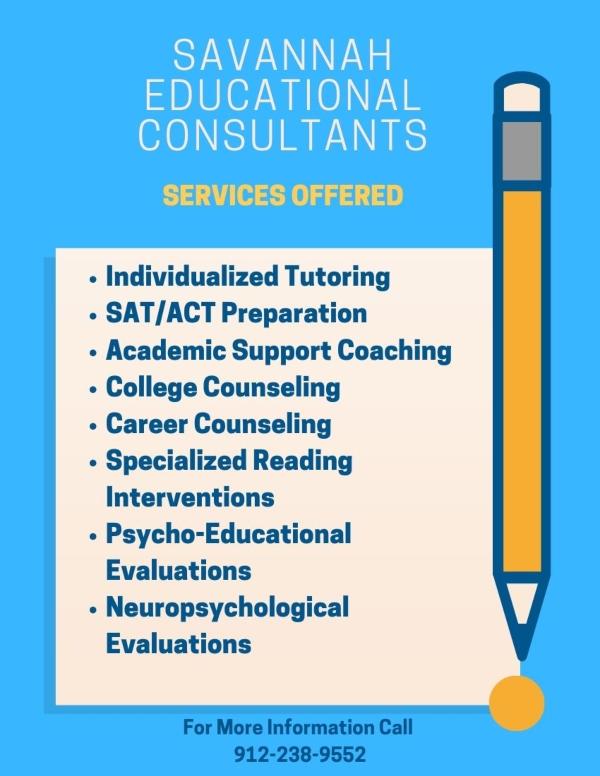 Savannah Educational Consultants tutoring