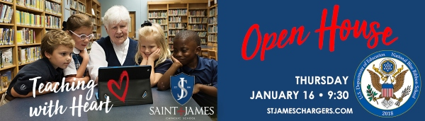Open House Saint James Savannah schools 2020