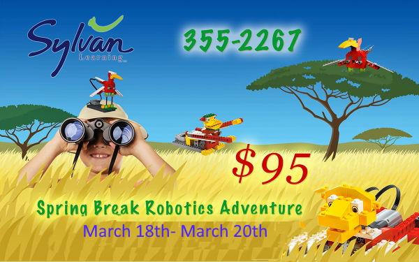 Robotics Spring Break Camp 2020 Sylvan Savannah