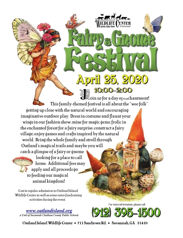 Fairy Gnome Festival Oatland Island Savannah