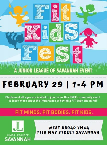 Free FIt Kids Fest 2020 Savannah