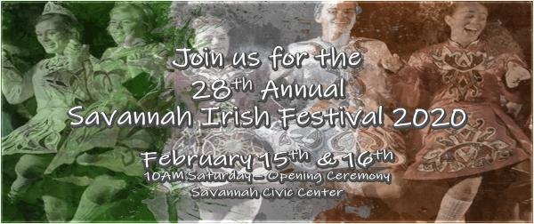 Savannah Irish Festival 2020
