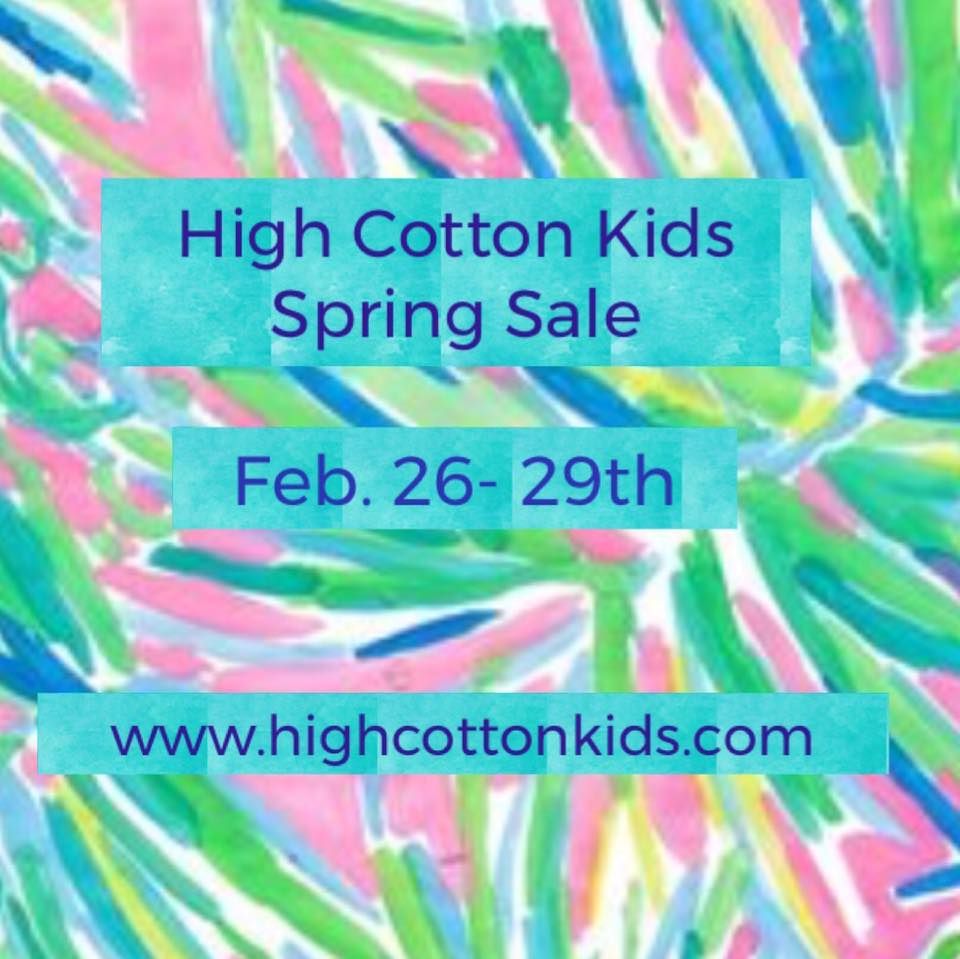 High Cotton Kids Spring 2020 Savannah Sale