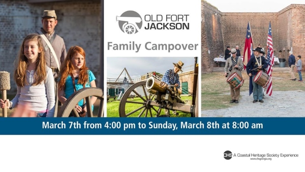Old Fort Jackson Family Campover 2020