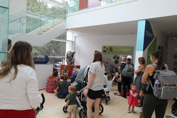 Telfair Museums Jepson Center Art Start Toddlers Strollers