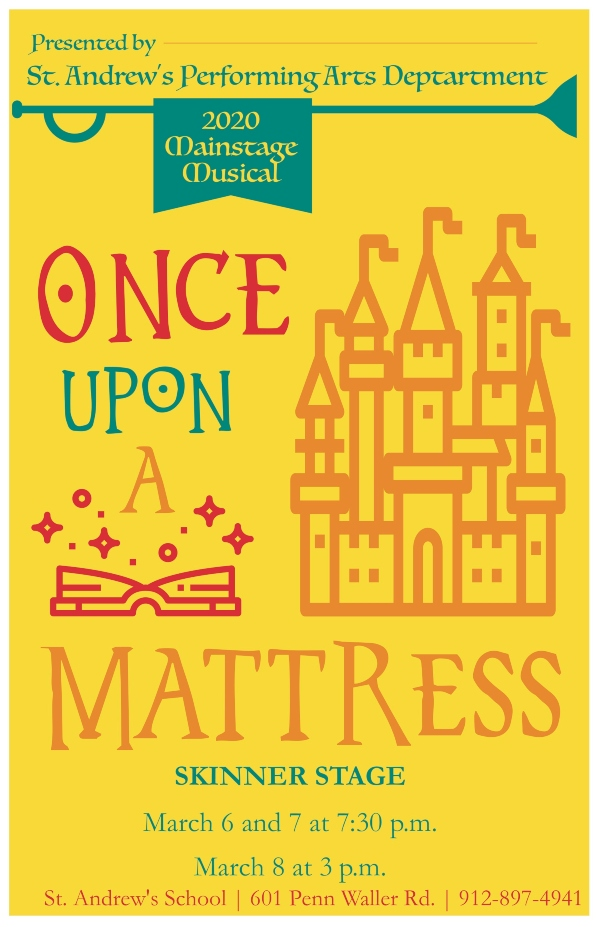 Once Upon A mattress St. Andrew's School Savannah