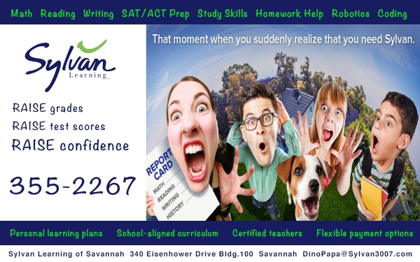 Sylvan Learning Savannah tutoring math tests