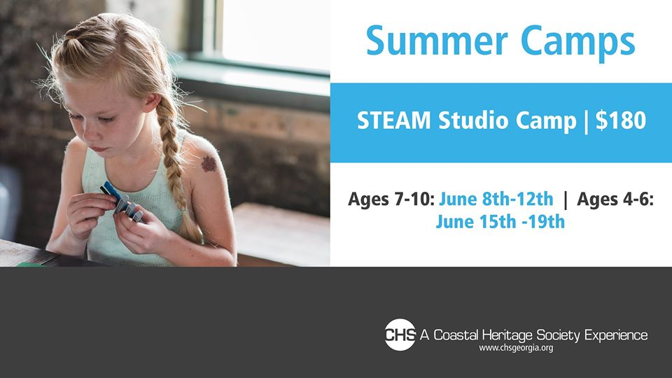 STEAM Studio Summer Camp Coastal Heritage Society Savannah