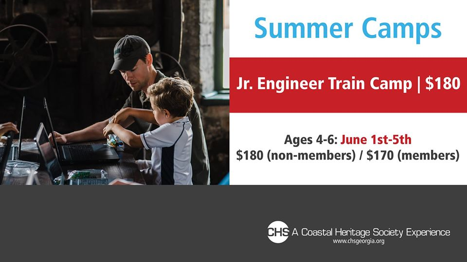 Jr. Engineering Camp Coastal Heritage Society Savannah 2020